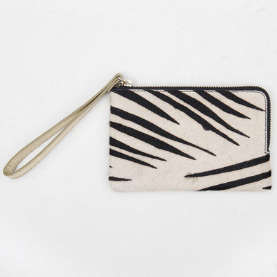 zebra-pony-skin-leather-leather-wristlet-purse-da5342-Purses and Pouches-1