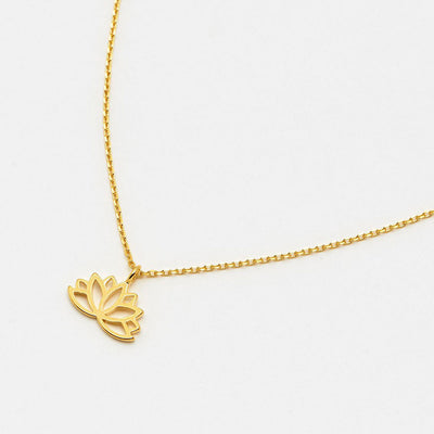 gold-plated-lotus-leaf-necklace-da5135-Jewellery-1