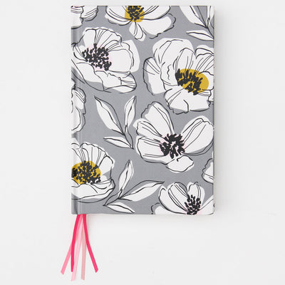 grey-floral-ribbon-journal-notebook-mul102-Notebooks-1