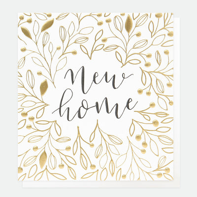 gold-calligraphy-new-home-card-ref003-Single Cards-1