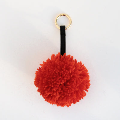 orange-wool-pom-pom-keyring-da5935-Keyrings-1