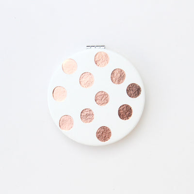 rose-gold-spot-pocket-mirror-pkm109-Pocket Compact Mirror-1