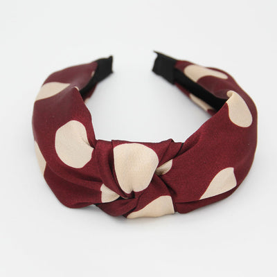 burgundy-white-polka-dot-headband-da5814-Hair Accessories-1