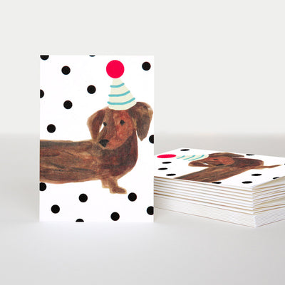 sausage-dog-notecards-pack-of-10-pqe211-Card Packs-1