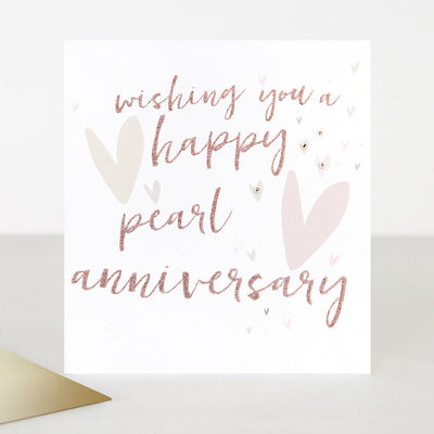 luxury-embellished-pearl-anniversary-card-ptr027-Single Cards-1
