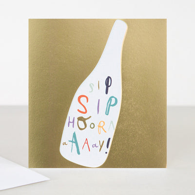 gold-sip-sip-hooray-birthday-card-srd004-Single Cards-1