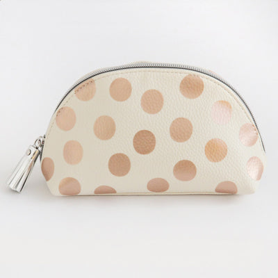 rose-gold-spot-half-moon-cosmetic-bag-pcb100-Cosmetic Bags-1