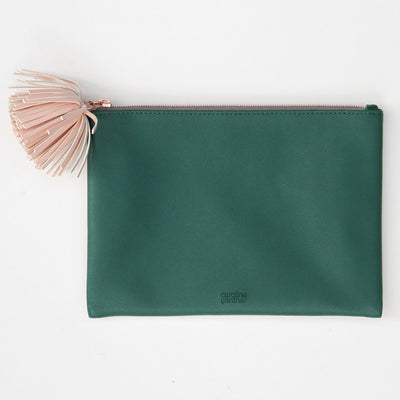 green-pouch-with-tassel-zip-tsp101-Purses and Pouches-1