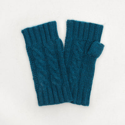 teal-cashmere-cable-knit-wrist-warmers-da5376-Gloves-1