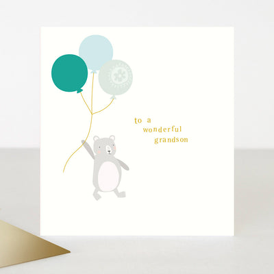 bear-balloon-birthday-card-for-grandson-toe017-Single Cards-1
