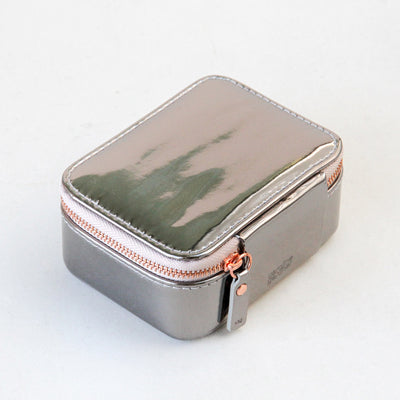 gunmetal-patent-travel-jewellery-box-sqj102-Jewellery Storage-1