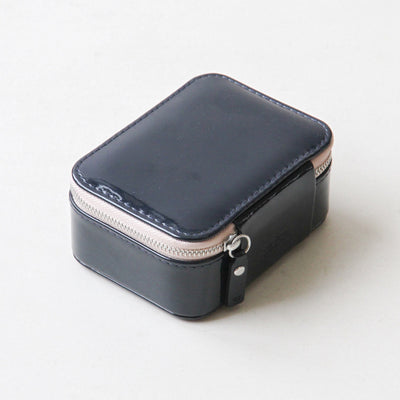 navy-patent-travel-jewellery-box-sqj100-Jewellery Storage-1
