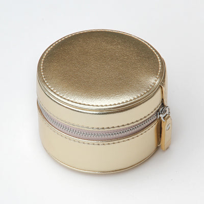 gold-round-travel-jewellery-box-roj101-Jewellery Storage-1