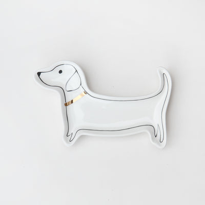 trinket-tray-sausage-dog-dachshund-crm104-Trinket Trays-1