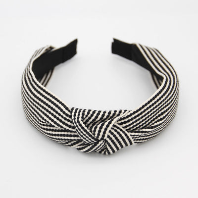 black-white-woven-stripe-headband-da5812-Hair Accessories-1