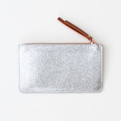 silver-glitter-zip-top-purse-evp103-Purses and Pouches-1