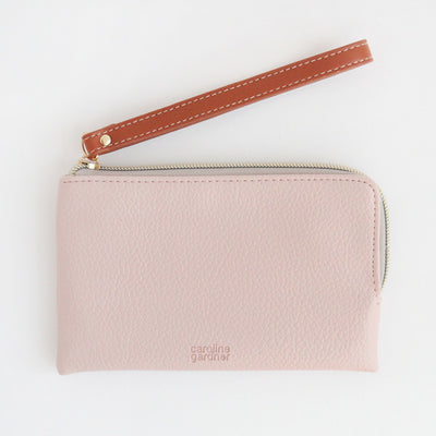 pale-pink-wristlet-pink-esp106-Purses and Pouches-1