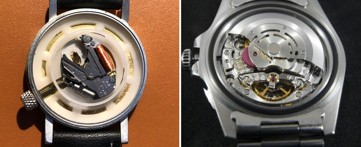 What's the difference between Mechanical and Quartz Watch Movements?
