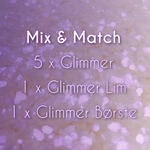 Mix og Match - glimmer kit á 5