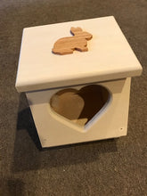 Load image into Gallery viewer, Heart Shaped Rabbit Hay Feeder mini