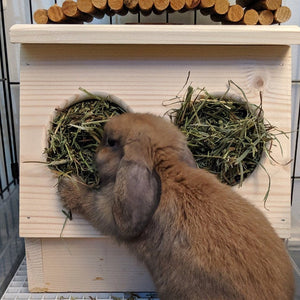 Rabbit Hay Feeder