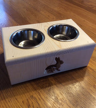 Load image into Gallery viewer, Pet Bunny Rabbit Feeding Station