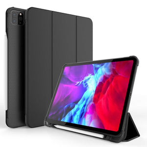 "CoverON Smart Cover For Apple iPad Air 3 10.5"" Case, Slim Flip Pen Holder Tablet Auto Wake / Sleep - Black"