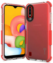 Load image into Gallery viewer, Samsung Galaxy A01 (US Version) Clear Case - Protective TPU Rubber Phone Cover - Collider Series