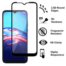 Load image into Gallery viewer, Motorola Moto E (2020) Case - Clear Tinted Metal Ring Phone Cover - Dynamic Series