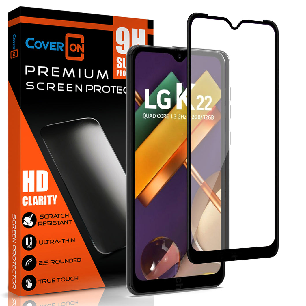 LG K22 / K22+ Plus / K32 Tempered Glass Screen Protector - InvisiGuard Series (1-3 Pieces)