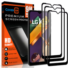 Load image into Gallery viewer, LG K22 / K22+ Plus / K32 Tempered Glass Screen Protector - InvisiGuard Series (1-3 Pieces)