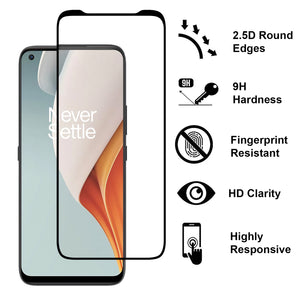 OnePlus Nord N100 Case - Clear Tinted Metal Ring Phone Cover - Dynamic Series