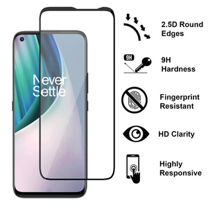 OnePlus Nord N10 5G Tempered Glass Screen Protector - InvisiGuard Series (1-3 Pack)