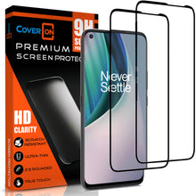 Load image into Gallery viewer, OnePlus Nord N10 5G Tempered Glass Screen Protector - InvisiGuard Series (1-3 Pack)