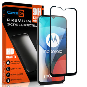 Motorola Moto E7 Wallet Case - RFID Blocking Leather Folio Phone Pouch - CarryALL Series