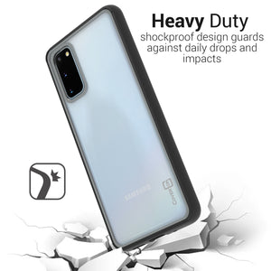 Samsung Galaxy S20 Plus Case Clear Premium Hard Shockproof Phone Cover - Unity Series