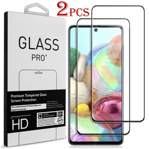 Samsung Galaxy A91 Case - Clear Tinted Metal Ring Phone Cover - Dynamic Series