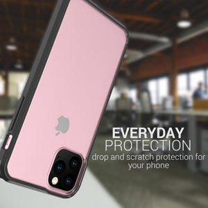 iPhone 11 Pro Max Clear Case - Slim Hard Phone Cover - ClearGuard Series