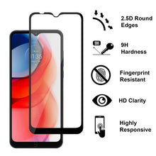Load image into Gallery viewer, Motorola Moto G Play 2021 Case - Clear Tinted Metal Ring Phone Cover - Dynamic Series