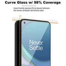 Load image into Gallery viewer, OnePlus 9 Pro Tempered Glass Screen Protector - InvisiGuard Series (1-3 Pack)