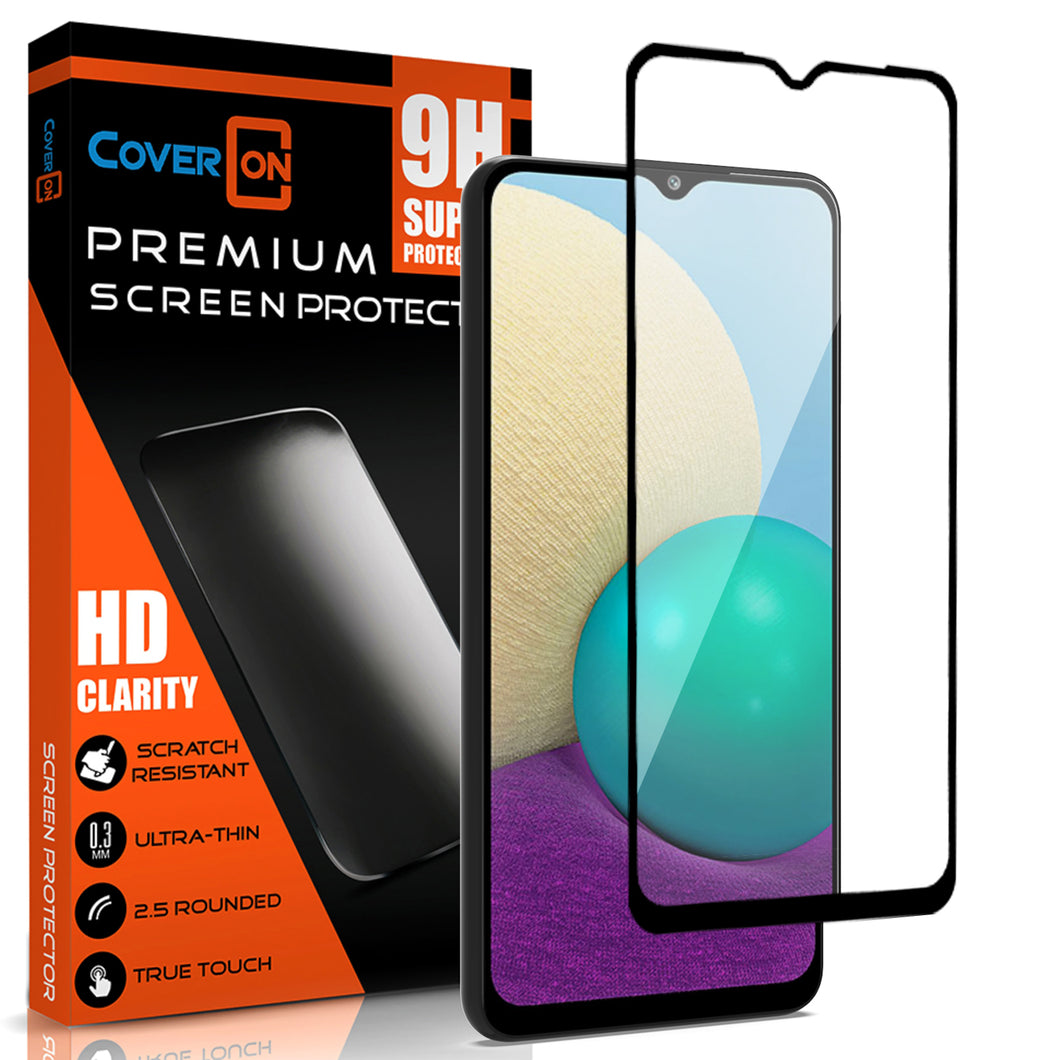 Samsung Galaxy A02 / Galaxy M02 Tempered Glass Screen Protector - InvisiGuard Series (1-3 Pack)
