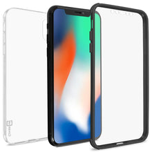 Load image into Gallery viewer, Apple iPhone XS Max Case with Built-In Screen Protector – Slim Fit Full Body Phone Cover