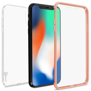 Apple iPhone XS Max Case with Built-In Screen Protector – Slim Fit Full Body Phone Cover