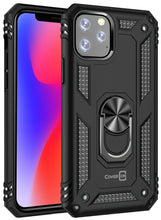 Load image into Gallery viewer, iPhone 11 Pro Max Case with Metal Ring Kickstand - Resistor Series
