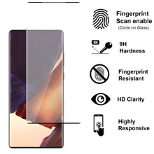 Load image into Gallery viewer, Samsung Galaxy Note 20 Ultra Case - Clear Tinted Metal Ring Phone Cover - Dynamic Series
