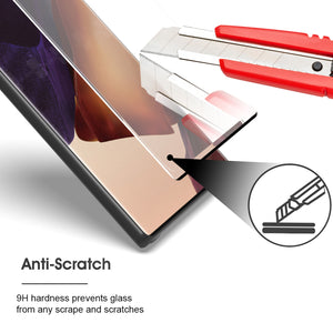 Samsung Galaxy Note 20 Ultra Tempered Glass Screen Protector - InvisiGuard Series (1-3 Pack)