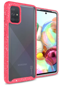 Samsung Galaxy A71 Case - Heavy Duty Shockproof Clear Phone Cover - EOS Series