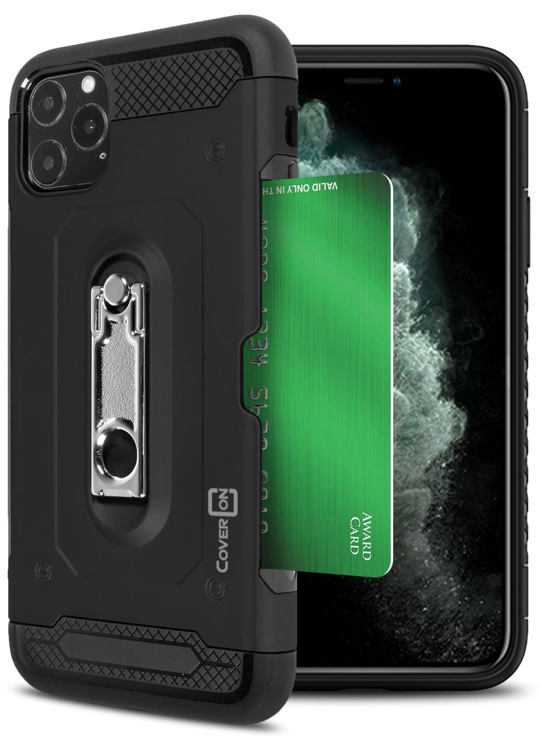 iPhone 11 Pro Max Kickstand Case with Card Holder - Zipp Series