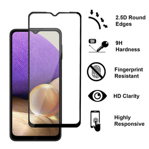 Samsung Galaxy A32 4G Tempered Glass Screen Protector - InvisiGuard Series (1-3 Pack)