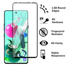 Load image into Gallery viewer, LG K92 5G Tempered Glass Screen Protector - InvisiGuard Series (1-3 Pack)